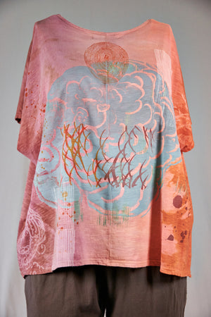 1250 HD Moon Tee-Cloud Dreaming -Sienna Glow