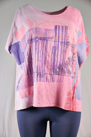 1250 Moon Tee HD Strawberry Fog-Manifestation-P