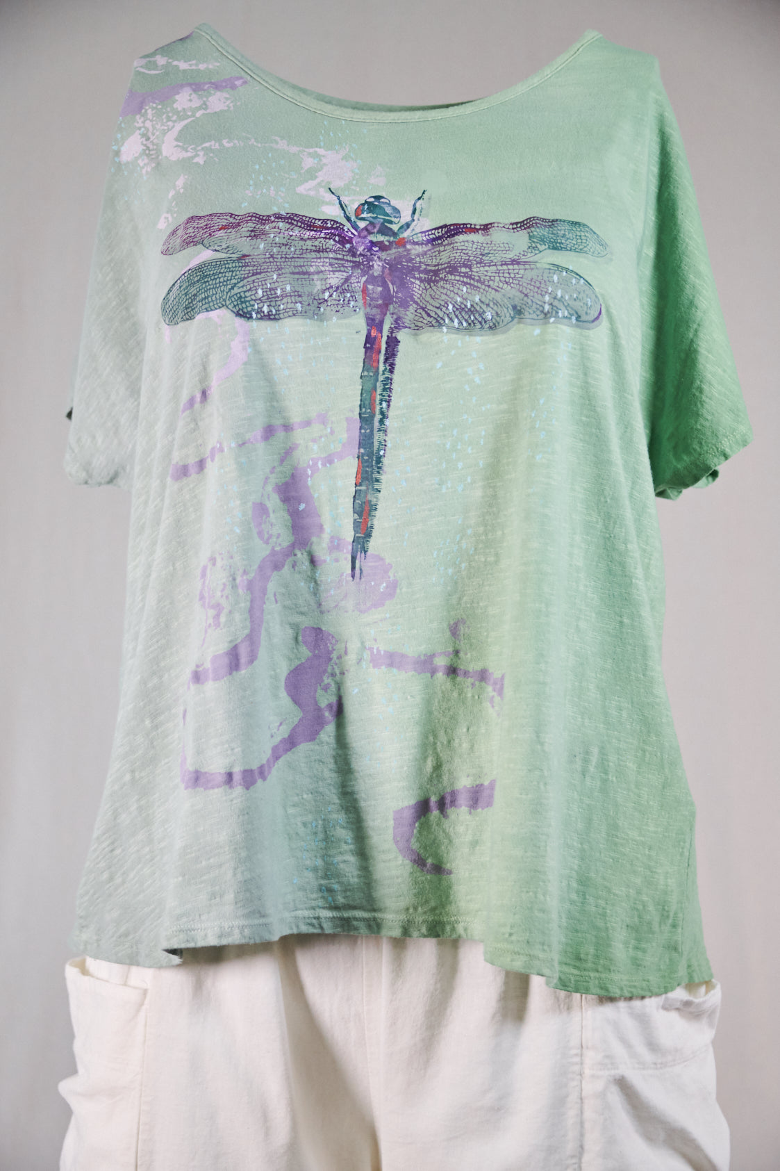 1250 Moon Tee-Sea Glass-Dragonfly Flight-P