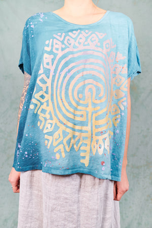 1250 Moon Tee HD Lagoon Glimmering LABYRINTH-P