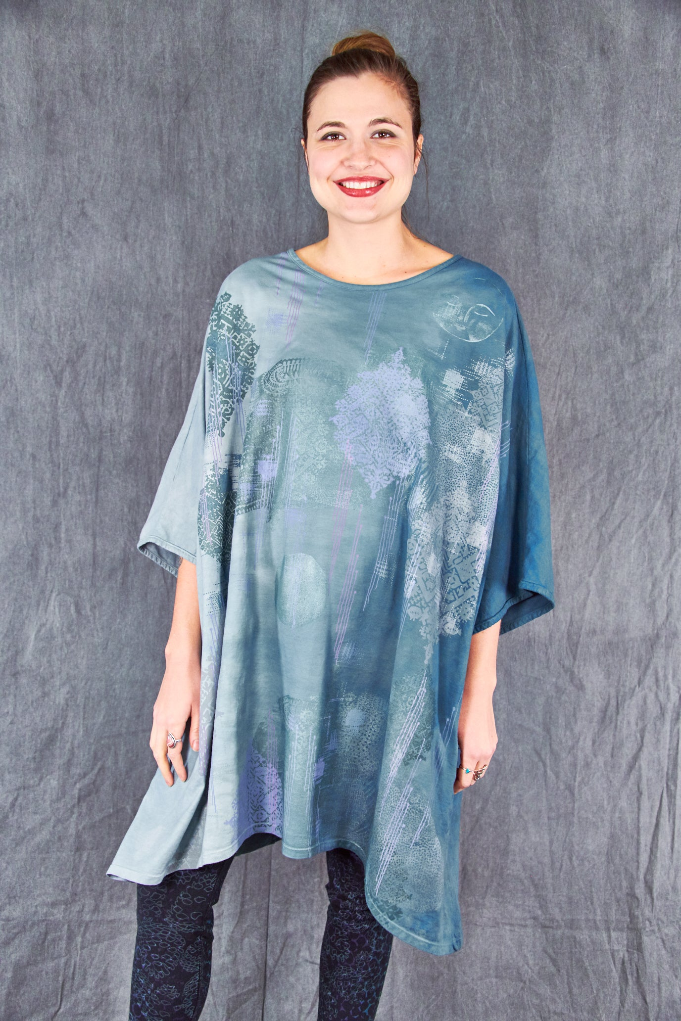 1255HD Art Tunic Teal Marina