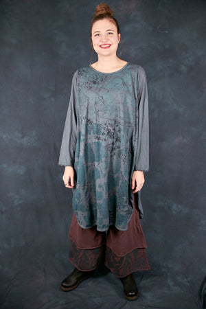 1257 Natalia Tunic Sea Grey-P