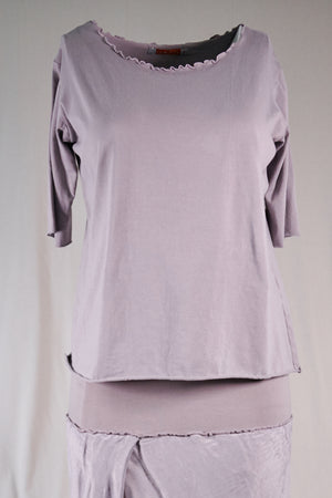 1569-Poetic Layering Top-Purple Dusk-U