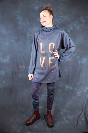 1572 Cowl Cafe Tee-Lux-P