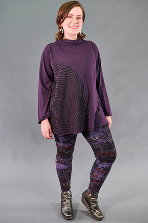 1572 Cowl Cafe Tee-Moonrise-Bold Fingerprint