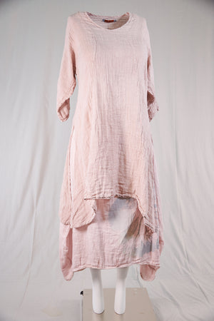 2193 Sun Drawing Tunic-Natural Pink-U