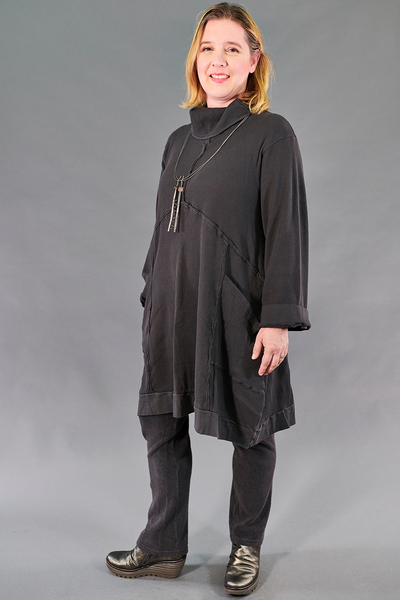 2207 Thermal Travel All Roads Tunic-Stone-Unprinted