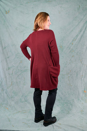 2231 Winter Spirit Tunic-Capsicum-P