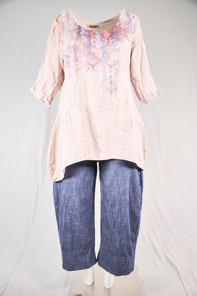 2265 Photographer's Smock-Natural Pink-P