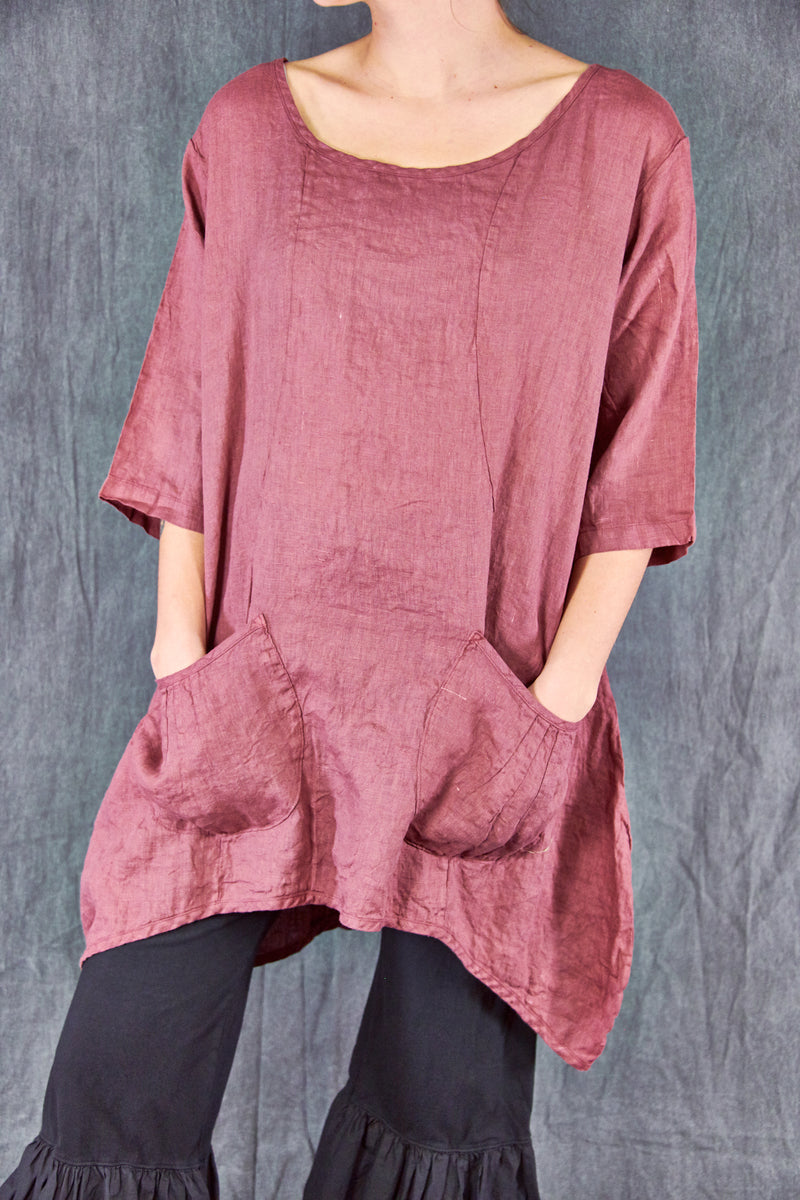 2265 Scoop Tunic Rose Canyon-U