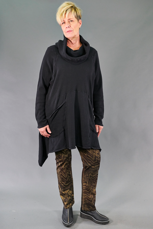 2292 Hibernation Thermal Cowl Neck Dress-Talisman-U