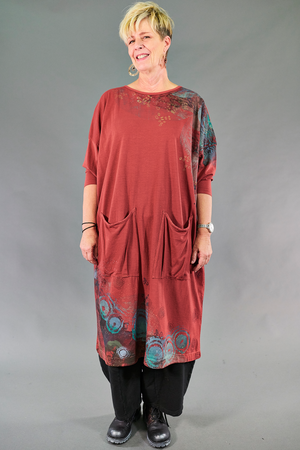 2303 Cotton Bamboo Mariposa Dress-Nepal-Isabella