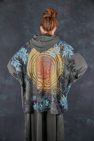 2305 Folklore Hoodie-Army Green-Sun Labyrinth