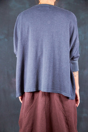2306 Hemp Cotton Pullover Antique Ink-P