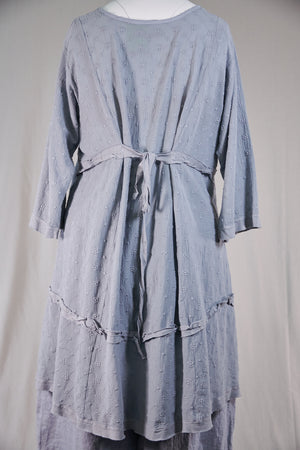 2311-Gypsy Gauze Summer Dress-Blue Dawn