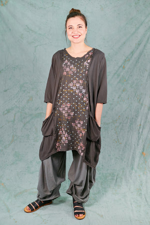 2313-Everyday Tunic-Deep Moss-P