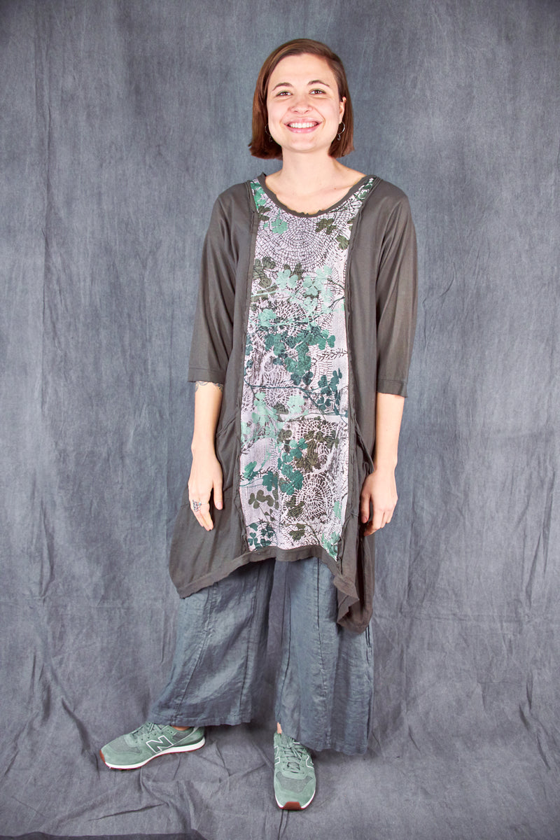 2313-Everyday Tunic-Deep Moss-Clover