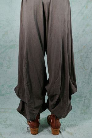 3142-Organic Billow Lounge Pant-Deep Moss-U