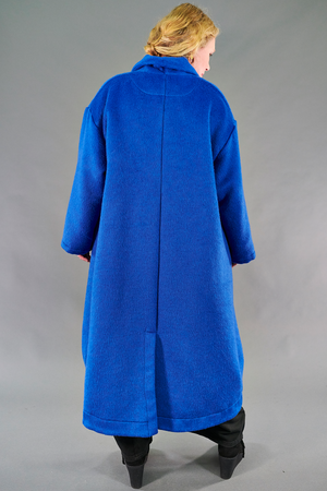 5286 Winter Wool Coat Lapis