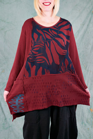2325 City Stitch Tunic Thermal- Capsicum-P