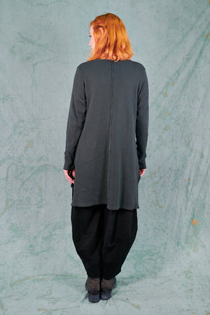 2325 City Stitch Tunic-Soot-U