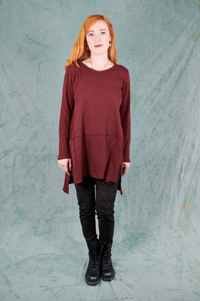2325 City Stitch Tunic-Capsicum-U
