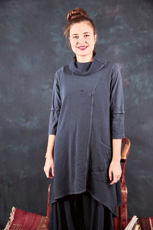 2328 Dichotomy Thermal Tunic Charcoal Navy-U