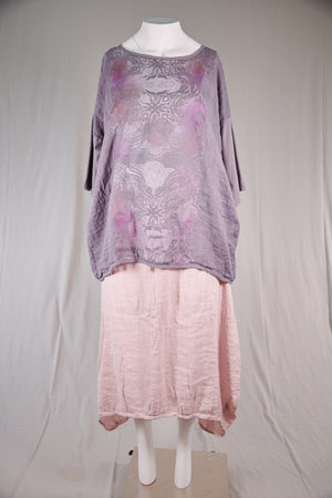 2330-Simple Linen Square-Purple Dusk-P