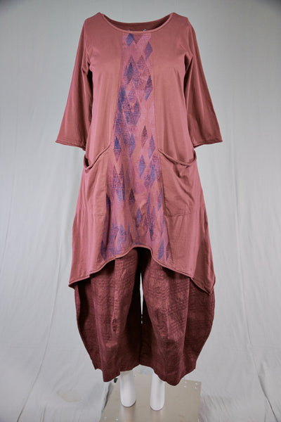 2334 Sunny Day Tunic Rose Canyon-Prism
