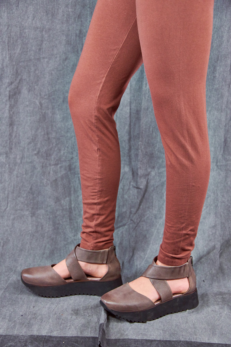 3136 Organic Cotton Legging Oxide-U