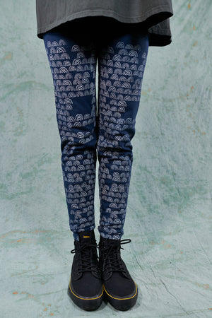 3136 Lightweight Legging-Indigo-Toucan