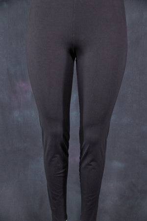 3136 Organic Cotton Leggings-Black-U