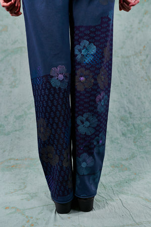 3176 Cotton Slim Pant-Indigo-Quilt