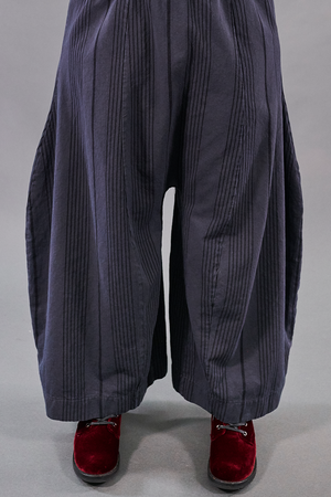 3190 Stripe Watercolor Pant-Charcoal-U