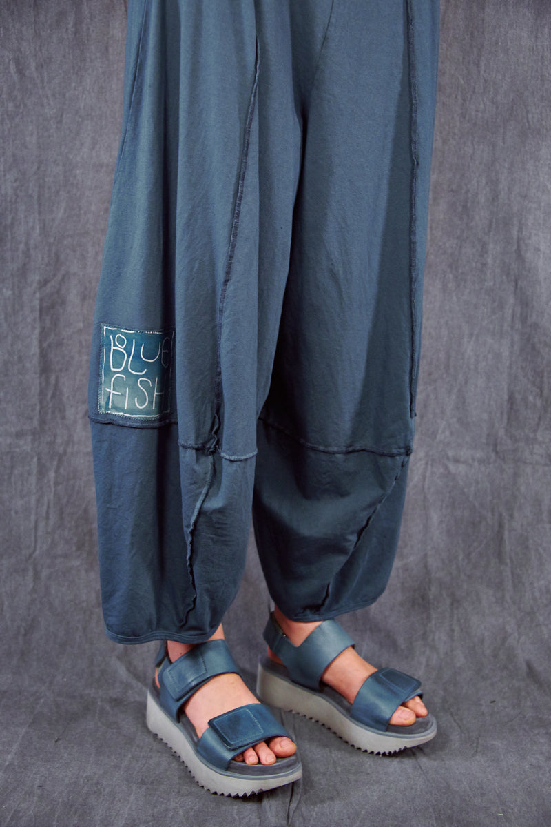 3273 Fold Over Four Square Pant Hypnea-Patched
