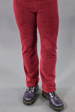 3888- Cozy Lounge Pants-Sangria