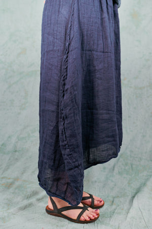 4181 Sylph Skirt-Blue Ink-U