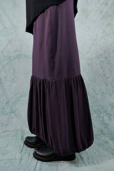 4180 Ophelia Bubble Skirt Plum-U