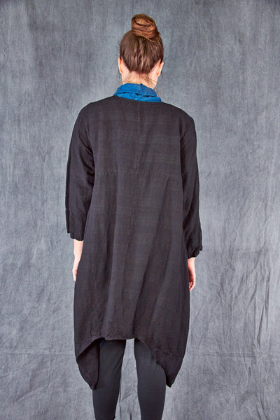 5266 Geoides Duster Mineral Black Unprinted
