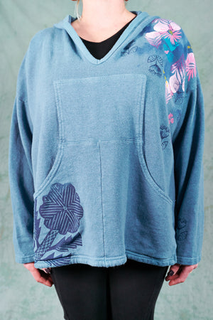 5273 Hip To Be Square Hoodie-Whistler Blue-P