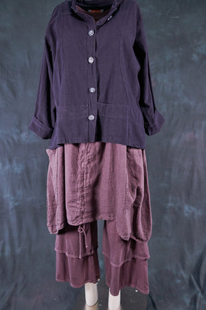 5277 Denim Jacket-Blue Plum-P
