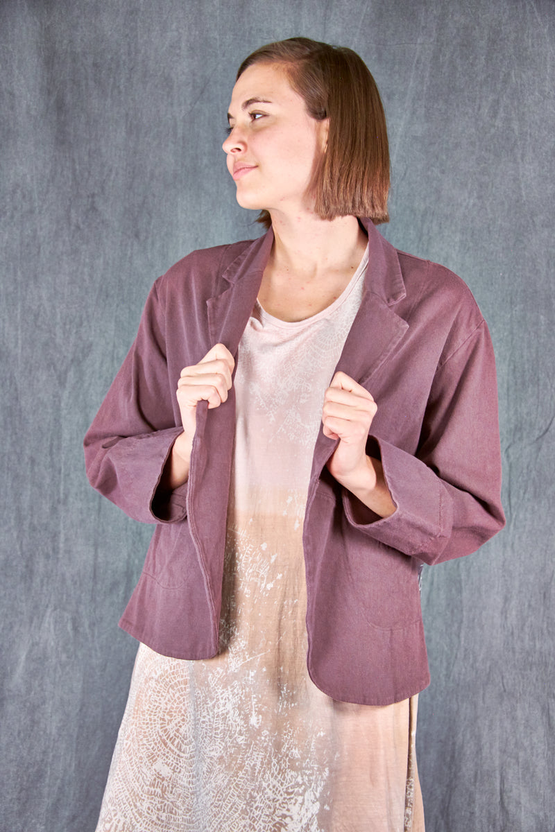 5278 Natural Cotton Twill Jacket Incense-Patched