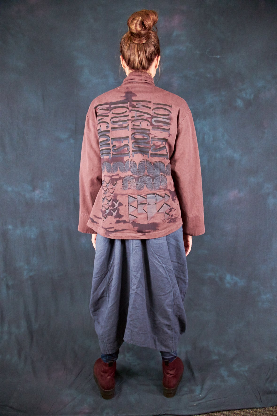 5278 Natural Cotton Twill Jacket Incense-P