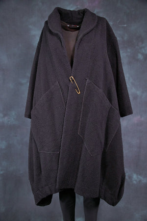 5286 Winter Wool Coat- Poe