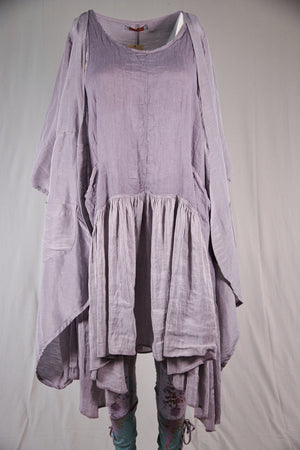 5294 Hemp Silk Duster-Purple Dusk-P