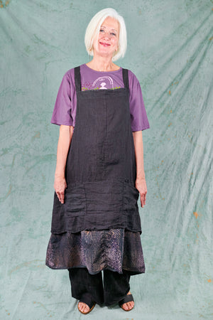6209 Artist Apron Midnight Blue-P