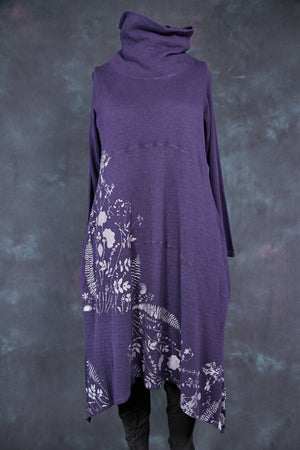 7220 Druid Cowl Dress-Tempest-P