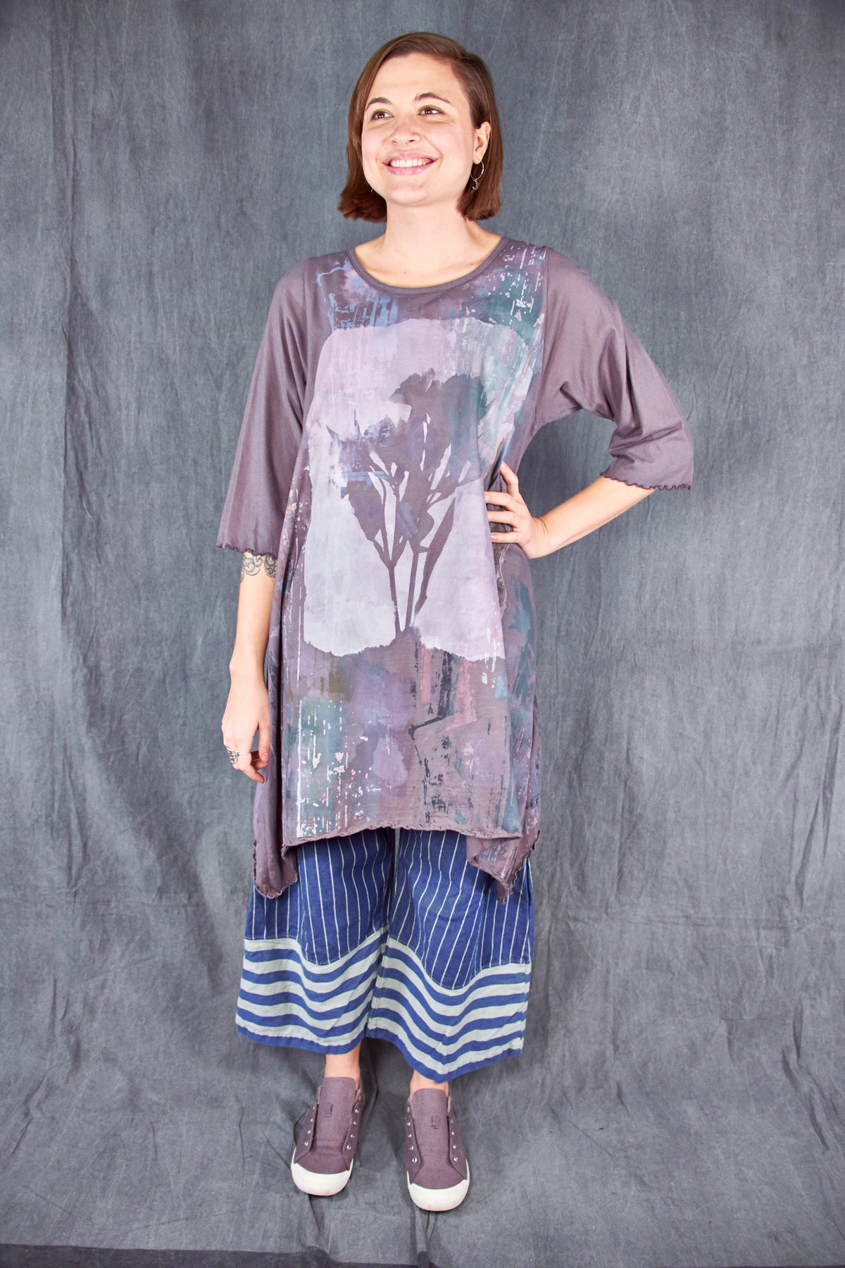 1565 Swing Tunic Flint-P