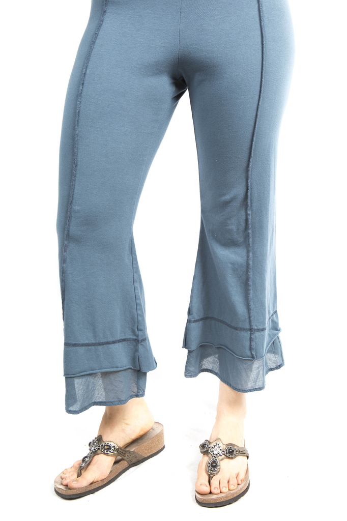 Summer Tiered Crop Pant UnPrinted-Was $128, NOW - Blue Fish Company - 3