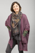 Celebration Cardigan Plum Rose UnPrinted